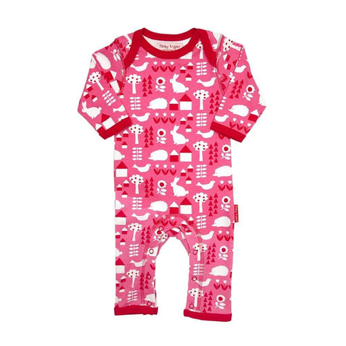 Toby Tiger Garden Romper - Say It Baby