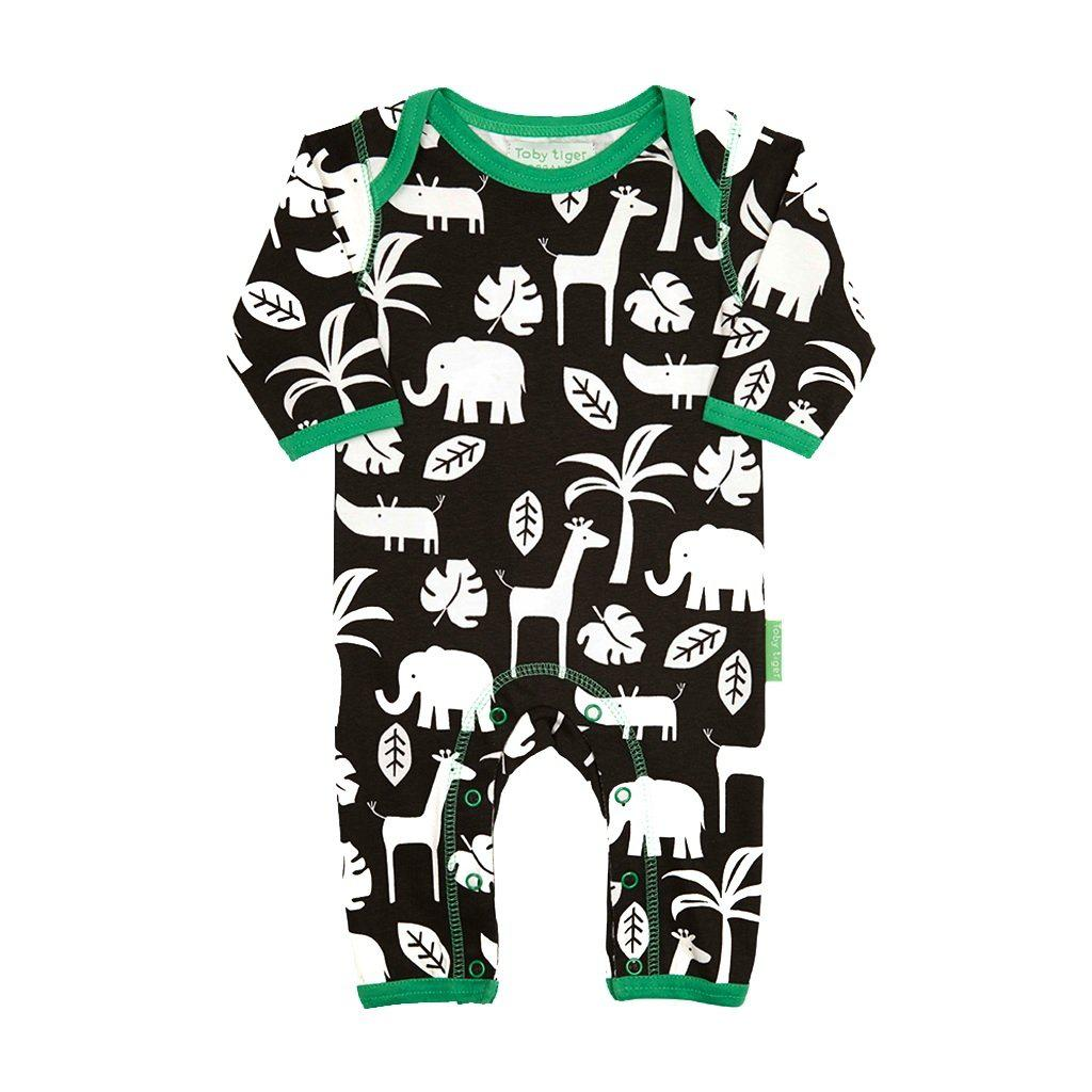 Toby Tiger Organic Jungle Romper - Say It Baby
