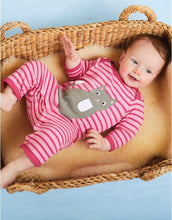 Load image into Gallery viewer, Toby Tiger Organic Kitten Sleepsuit - Say It Baby