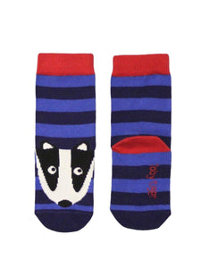 Toby Tiger Badger Socks - Say It Baby