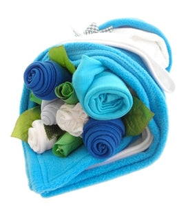 Say It Baby Traditional Turquoise Baby Bouquet Bundle - Say It Baby