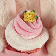 Load image into Gallery viewer, Large 3 Tier Baby Girl Nappy Cake