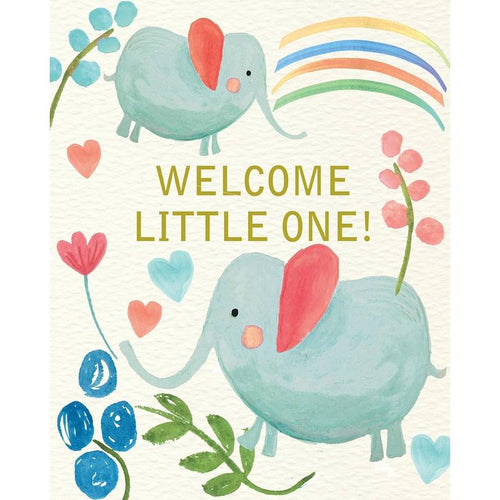 Liz & Pip Welcome Little One Card - Say It Baby