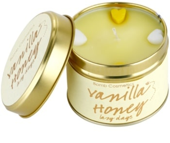 Bomb Cosmetics Vanilla Honey Tin Candle