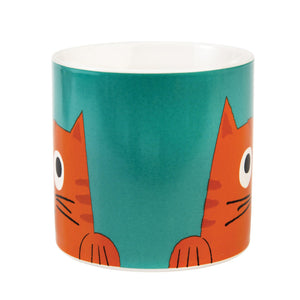 Chester the Cat Ceramic Mug - Say It Baby