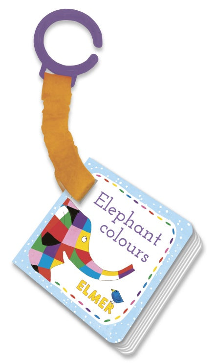 Elmer Elephant Colours Buggy Book - Say It Baby