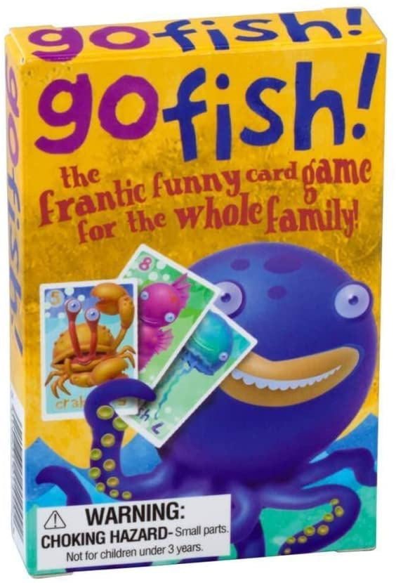 Go Fish Card Game - Say It Baby