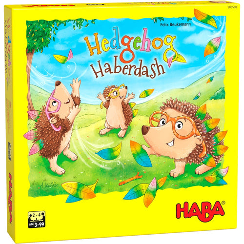 HABA Hedgehog Haberdash game for kids age 3 +