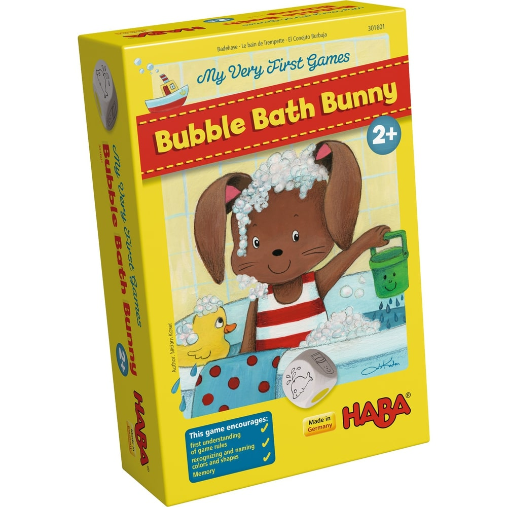 HABA My Very First Games - Bubble Bath Bunny - Say It Baby Gifts