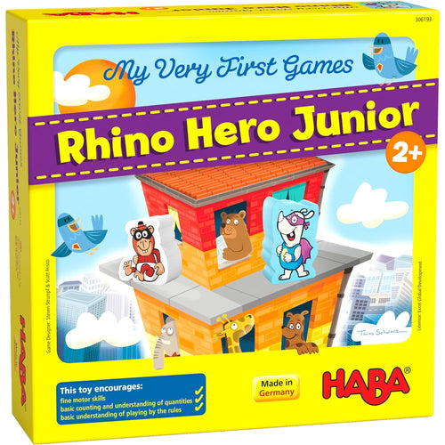 HABA My Very First Games - Rhino Hero Junior - Say It Baby Gifts