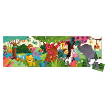 Load image into Gallery viewer, Janod Boxed Panoramic Puzzle Jungle 36pcs - Say It Baby