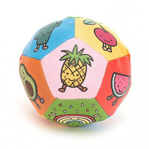 "Jellycat Amuseable Boing Ball - Watch out - when you drop or throw this fun soft ball it goes ""Boioioing""! (10cm)"