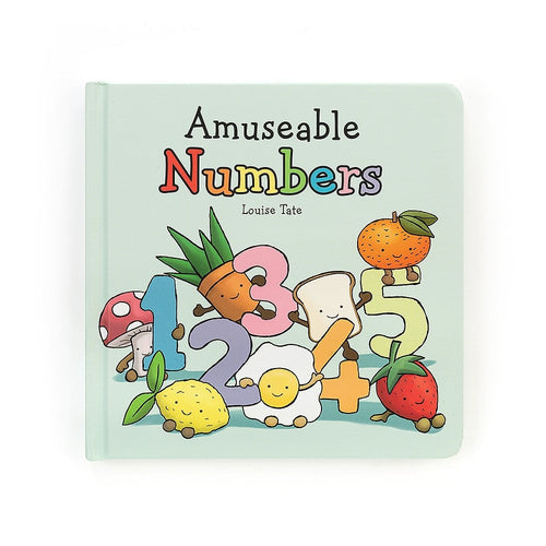 Jellycat Amuseable Numbers Book  - Say It Baby