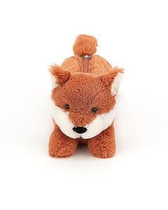 Jellycat Bashful Fox Pencil Case - Say It Baby