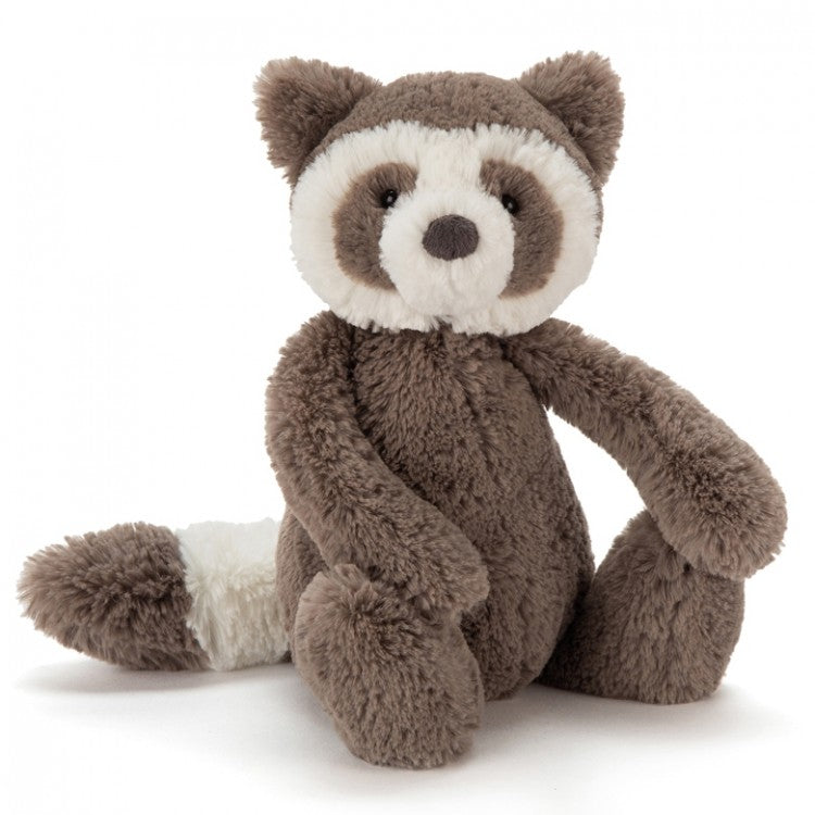 Jellycat Bashful Raccoon Small - Say It Baby