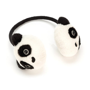 Jellycat Kutie Pops Panda Ear Muffs - Say It Baby