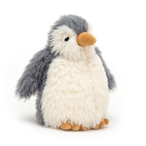 Meet Rolbie - a huggable fluffy cloud of a penguin by Jellycat.