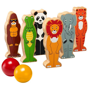 Lanka Kade World Animal Skittles Fair Trade Kids Wooden Toy Gift. Say It Baby Gifts