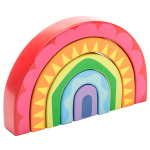 Le Toy Van Rainbow Tunnel Toy - Say It Baby