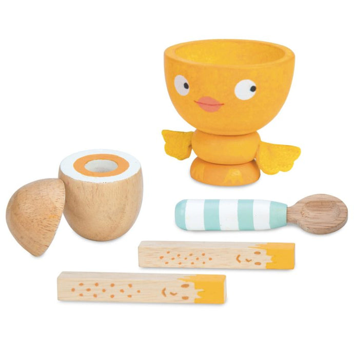 Le Toy Van Egg Cup Set Chicky Chick