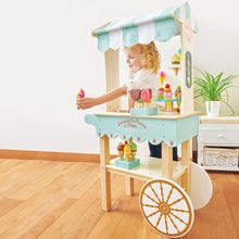 Load image into Gallery viewer, Le Toy Van Ice Cream Trolley - Say It Baby