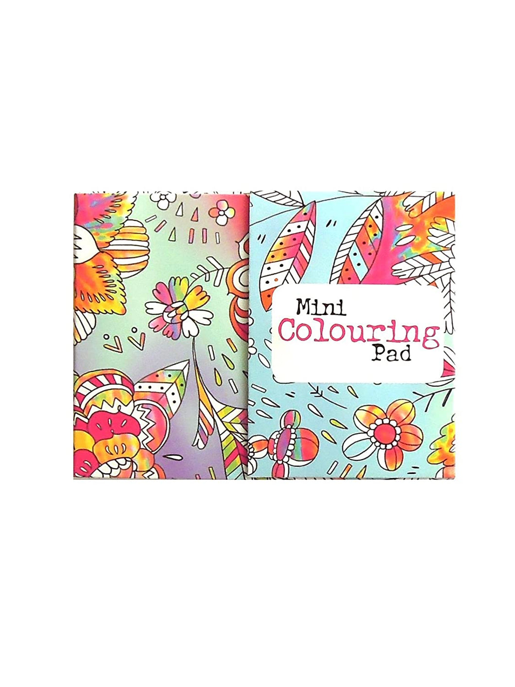 Mini Colouring Pad - Flowers - Say It Baby