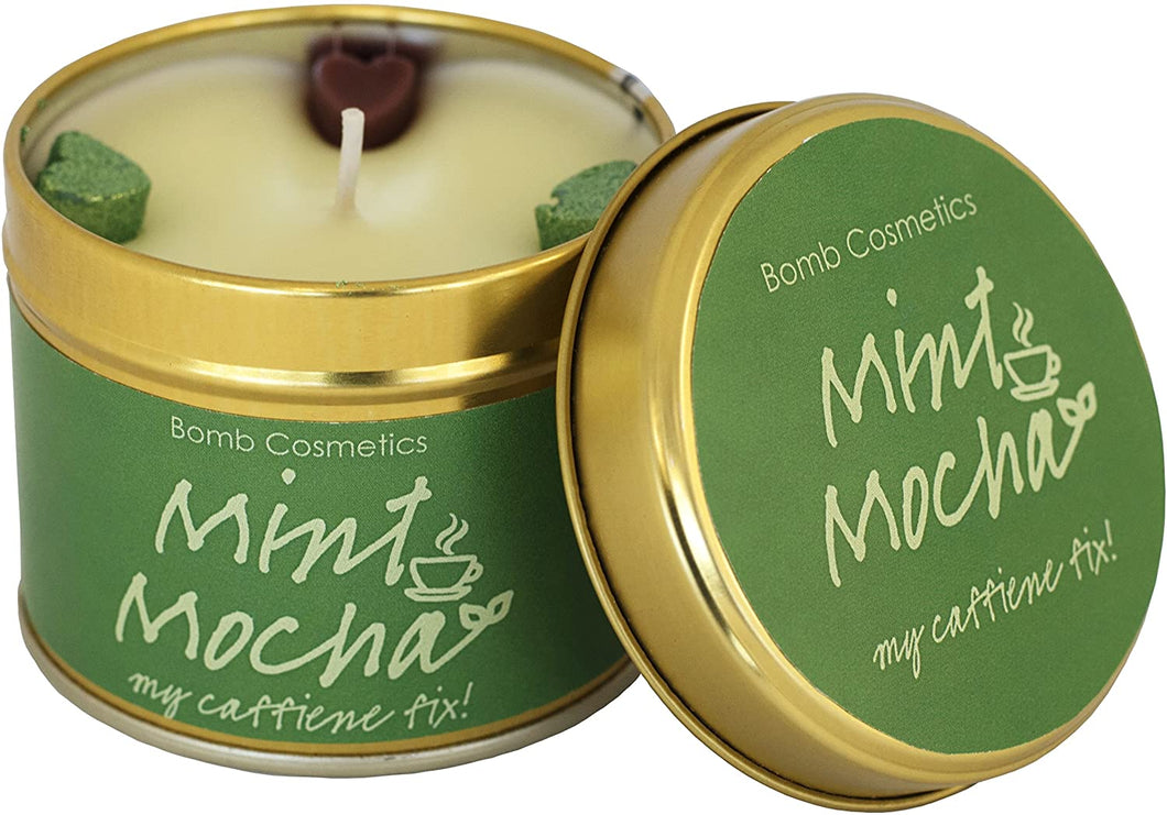 Mint Mocha Tin Candle - Say It Baby