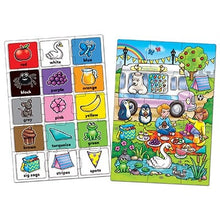 Load image into Gallery viewer, Look and Find... Colour Jigsaw by Orchard Toys - two 15-piece colour activity jigsaws in one box.