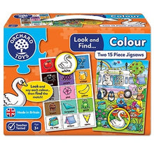 Load image into Gallery viewer, Orchard Toys Look and Find Colour Jigsaw