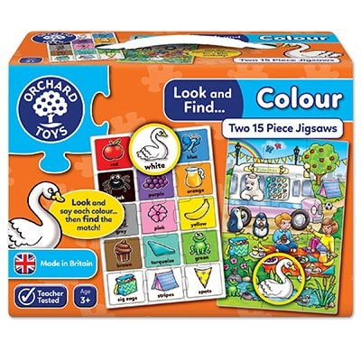 Orchard Toys Look and Find Colour Jigsaw