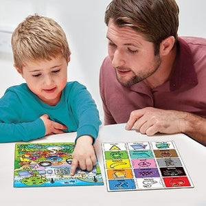 Orchard Toys Puzzle Look and Find- Children will love piecing together the colourful scene in this fun jigsaw puzzle, which helps make learning colours fun!