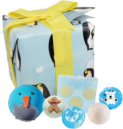 Bomb Cosmetics Penguin Party Gift Set - Say It Baby