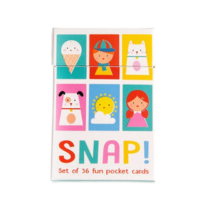 Rex London Children's Snap Cards - Say It Baby