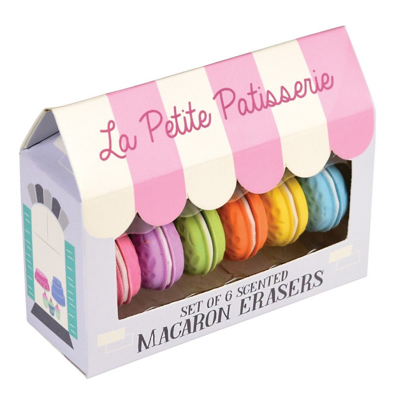 Rex London Scented Macaron Erasers - Say It Baby