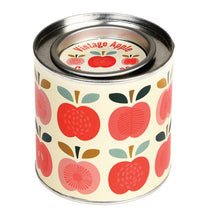 Load image into Gallery viewer, Rex London Vintage Apple Tin Candle - Say It Baby