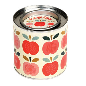 Rex London Vintage Apple Tin Candle - Say It Baby