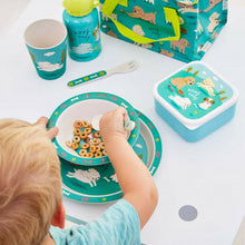 Load image into Gallery viewer, Sass & Belle Puppy Dog Playtime Bamboo Tableware Set - Say It Baby