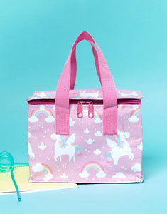 Sass & Belle Rainbow Unicorn Lunch Bag - Say It Baby