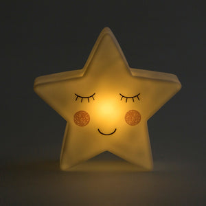 This sweet star night light from Sass & Belle is a beautiful gift for a little one's room! The lovely soft light is great for adding a gentle glow to a room.