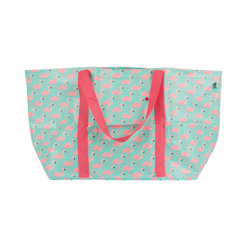 Sass & Belle Tropical Summer Flamingo Shopper Bag - Say It Baby