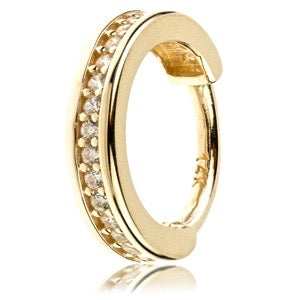 14ct Gold Channel Ring