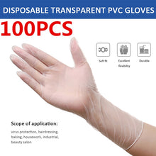 Load image into Gallery viewer, Disposable Vinyl Gloves - Medium 100/Box