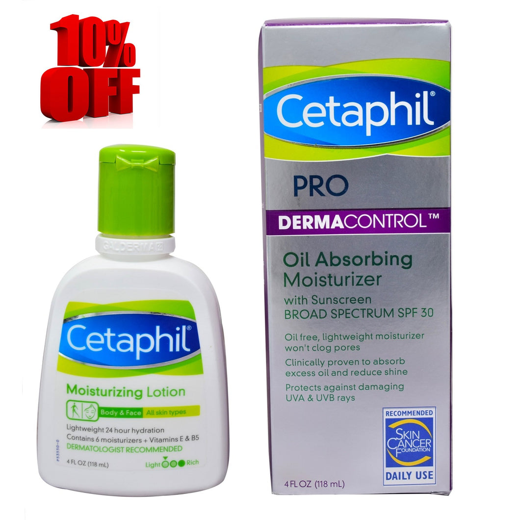 Cetaphil PRO Oil Absorbing Moisturizer and Lotion