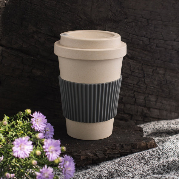 Eco Friendly Bamboo Fibre  Coffee Travel Mug