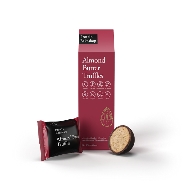 Protein Bake Shop Almond Butter Truffles - 60g