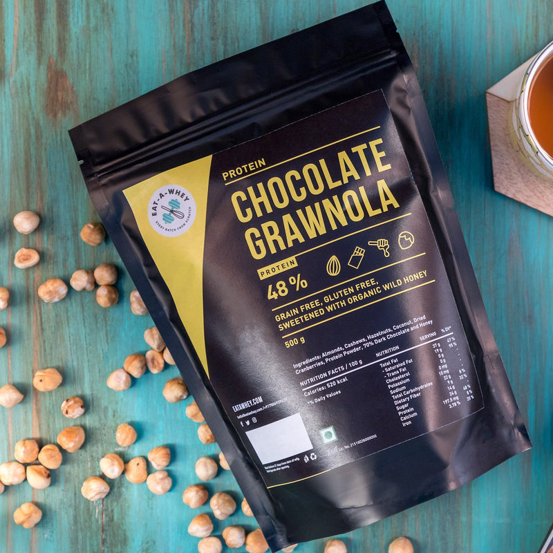 Eat-A-Whey Protein Chocolate Granola