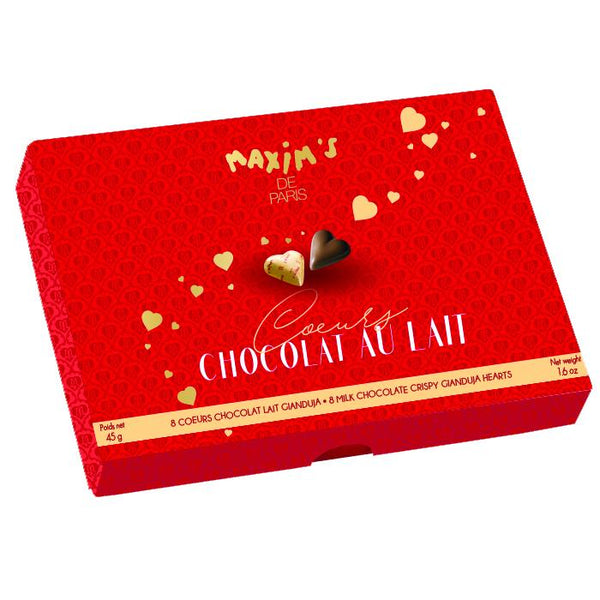 Maxim's Chocolate Hearts