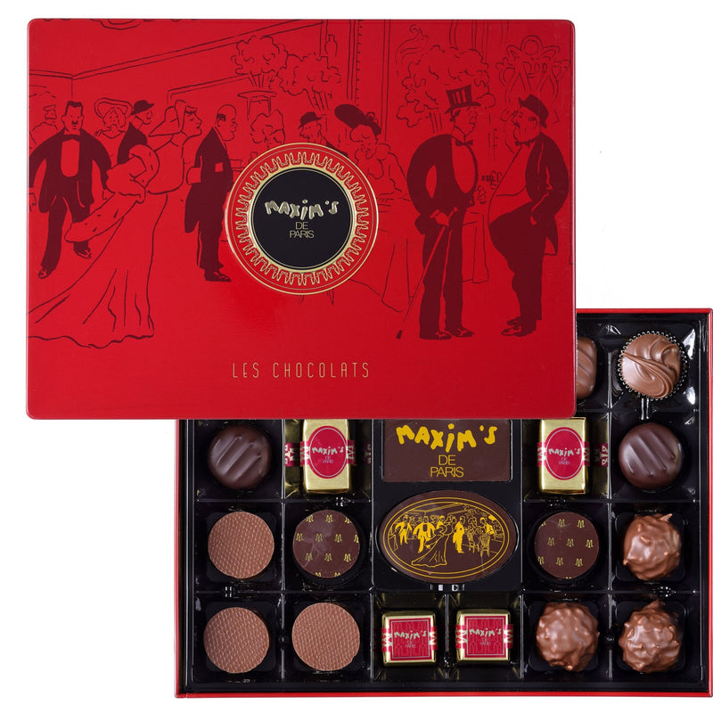 Maxim's Red Tin - 22 Assorted Chocolates