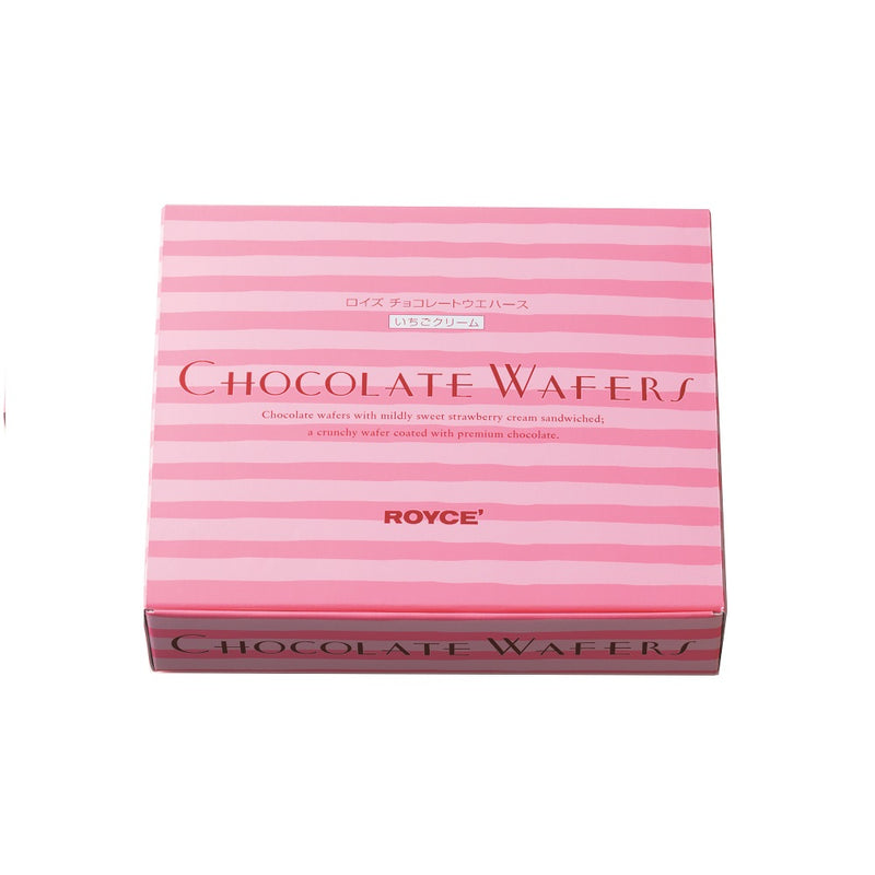 ROYCE' Chocolate Wafers  Strawberry Cream