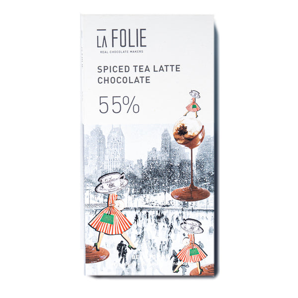 La Folie Spiced Tea Latte